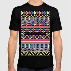 For The Love Of Pattern. Mens Fitted Tee MEDIUM Black