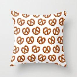 PRETZEL TIME! Throw Pillow