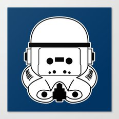 Cassette Trooper Canvas Print