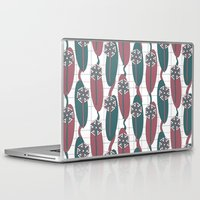 mod Laptop & iPad Skins featuring Mod Dandelion by Glanoramay
