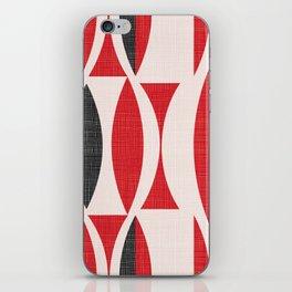Seventies in Cherry Red iPhone Skin
