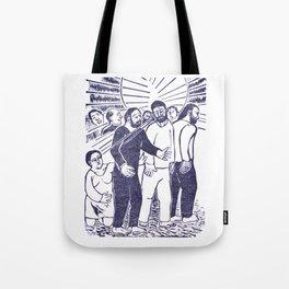 Jesus Heals Tote Bag