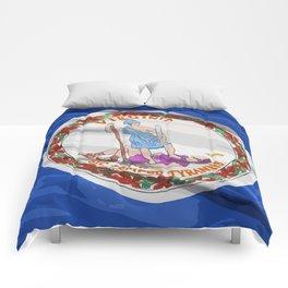 Virginia Fancy Flag Comforters