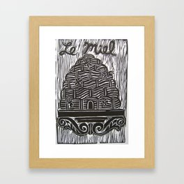 Le Miel Framed Art Print