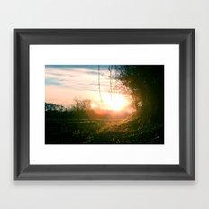 Hello World! Framed Art Print
