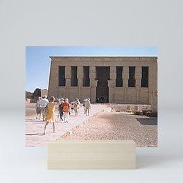 Temple of Dendera, no. 5 Mini Art Print
