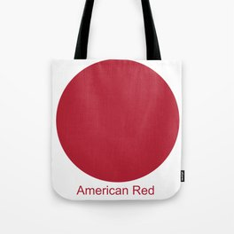 American Red Tote Bag