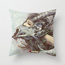 Zodiac Sign: Capricorn Throw Pillow