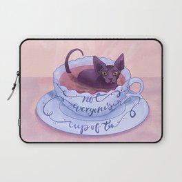 Not Everone's Cup Of Tea - Sphynx Cat - Part 2 Laptop Sleeve