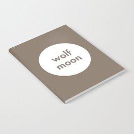 Wolf Moon Notebook