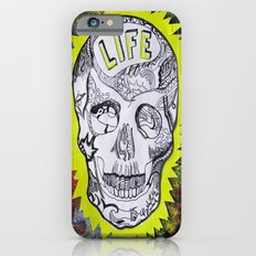 NEON SKULL iPhone 6s Slim Case