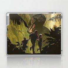 Dinosaur Poster Laptop & iPad Skin