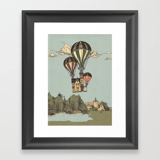 Steam UP Framed Art Print