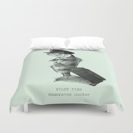 The Pilot (colour option) Duvet Cover