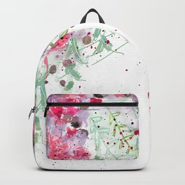 Falling flowers love Backpack