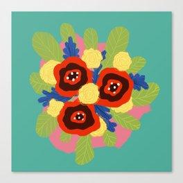 Bouquet #1 Canvas Print