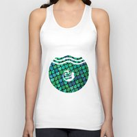 scales Tank Tops featuring Scales by MeltingMiltons