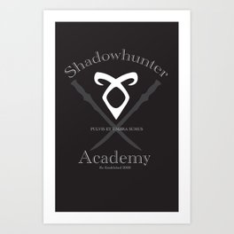 Shadowhunter Academy Art Print