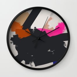 I am walking in Champs Elysees Wall Clock