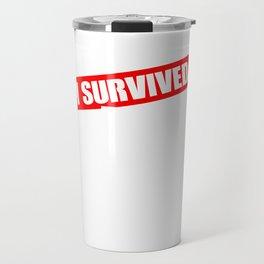 Wild West Collectible Survived Wild West Travel Mug