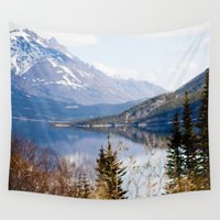 alaska Wall Tapestries featuring Alaska by youngkinderhook