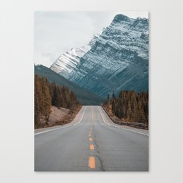 Road to the Mountain Canvas Print