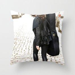 Walking Throw Pillow
