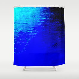 Moon Casting in to the Sea Shower Curtain