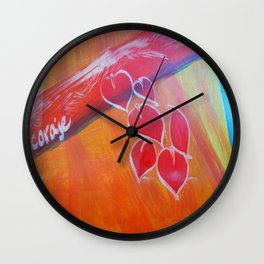 Coraje // Courage Wall Clock