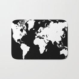Design 69 world map Bath Mat