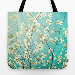 The dogwoods are blooming. Tote Bag