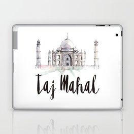 Taj Mahal watercolor Laptop & iPad Skin