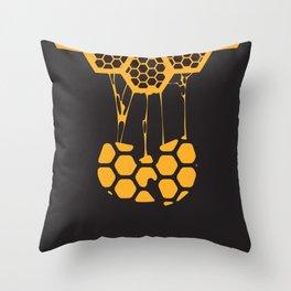 Wutang Hive Print Throw Pillow