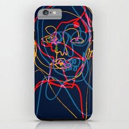 Split Portrait iPhone Case