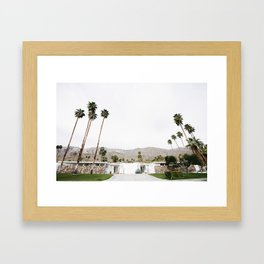 , California Wall Art, Palm Springs Framed Art Print