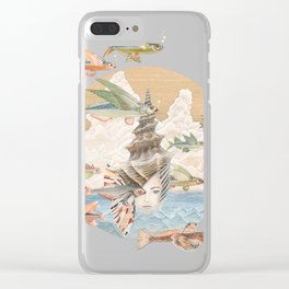 Sea dream Clear iPhone Case