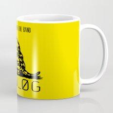 Snake and Band (Analog Zine) Mug