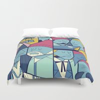 ale giorgini Duvet Covers featuring The Life Acquatic with Steve Zissou by Ale Giorgini