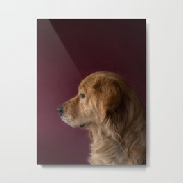 The Dog Metal Print