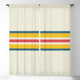 Ameonna - Classic Retro Stripes Blackout Curtain
