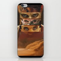 mad max iPhone & iPod Skins featuring Mad Max Fury Road by Laura Pulido