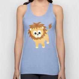 Baby Lion Cub Unisex Tank Top