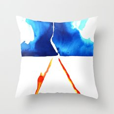 Marty, we have to go back! Throw Pillow