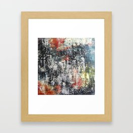 Night lights 2 Framed Art Print