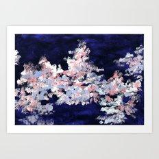 In the Clouds Art Print