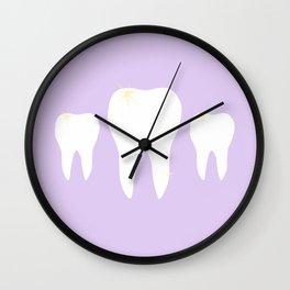 Les Dents Wall Clock