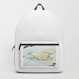 Polar Bears Backpack