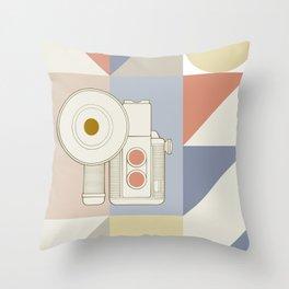 Camera Lucida Throw Pillow