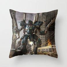KAMPFER Throw Pillow