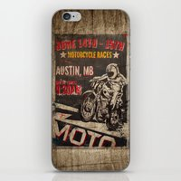austin iPhone & iPod Skins featuring Austin by desirae samantha